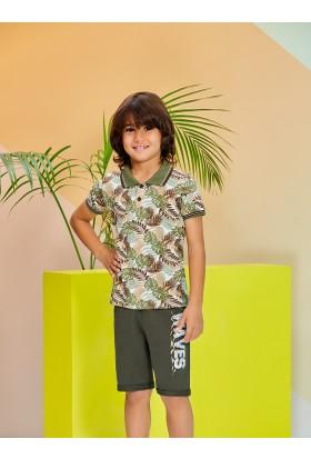 Rolypoly Erkek Çocuk Bermuda Takımı