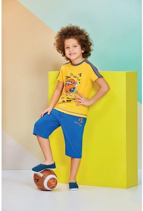 RolyPoly Erkek Çocuk Kapri Takımı Sarı