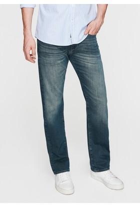 Mavi Erkek Hunter Amerika Gri Jean Pantolon