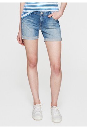Mavi Kadın Pixie Vintage Jean Şort