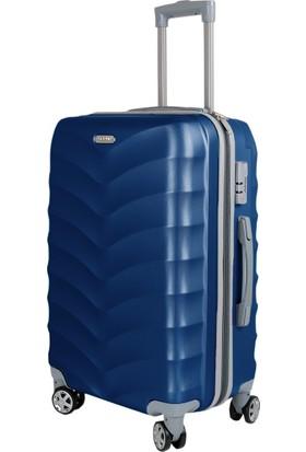 Liveup Mavi Küçük Boy Bavul Valiz VZ314-400-S