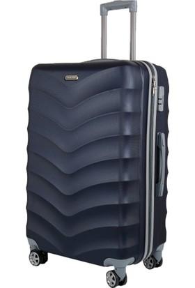 Liveup Lacivert Küçük Boy Bavul Valiz VZ314-451-S