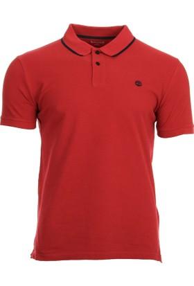 Timberland Kırmızı Erkek T-Shirt A1KBSJ82