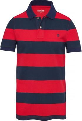 Timberland Kırmızı Erkek T-Shirt A1KEXJ84
