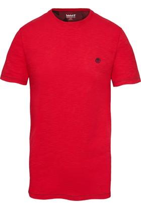 Timberland Kırmızı Erkek T-Shirt A1L6YJ82
