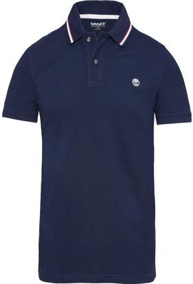 Timberland Lacivert Erkek T-Shirt A1KFKJ38