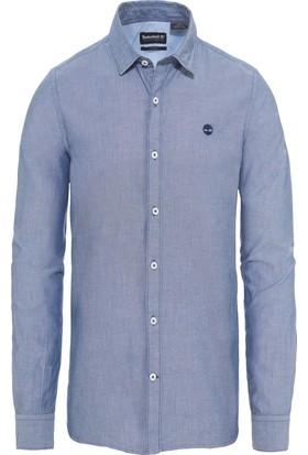 Timberland Mavi Erkek Gömleği 0YHQIK06