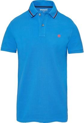 Timberland Mavi Erkek T-Shirt A1KFKJ45