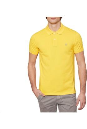 Timberland Sarı Erkek T-Shirt Ss Millers Pique Slim Polo A1LIL733
