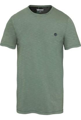 Timberland Yeşil Erkek T-Shirt A1L6YJ02