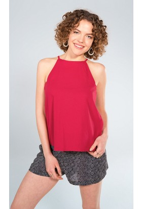 Clandestino Yaka Detaylı Bluz