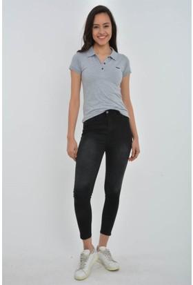 Rodin Hills Siyah Yüksek Bel Kot Pantolon 22500