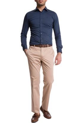 Cacharel 40009049-595 Erkek Keten Pantolon