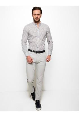 Cacharel 50186960-Xx7605 Erkek Keten Pantolon