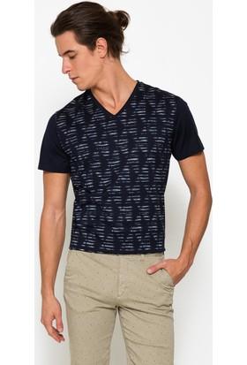Cacharel 50187533-Vr033 Erkek V Yaka Tshirt