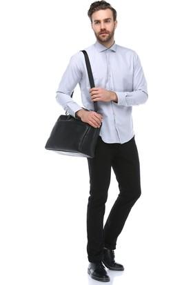 Brango 50126-1 Dar Kalıp Siyah Pantolon