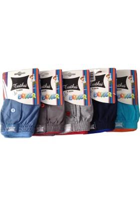 Tutku Erkek Çocuk Havlu Bel Boxer 6'Lı Paket
