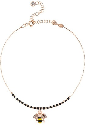 Paljewelry Taşlı Rose Arı Halhal