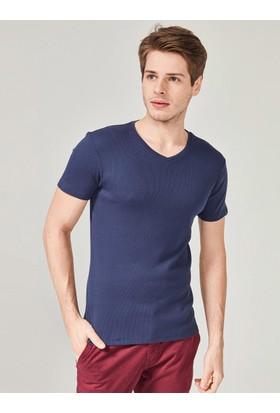 Xint Mcl Erkek V Yaka Basic Tişört
