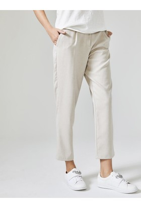 Xint Kadın Yüksek Bel Rahat Form Pantolon