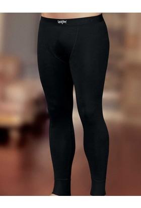 Şahinler Termal Erkek Uzun İçlik Siyah ME092