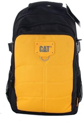 Cat 83436 Erkek Spor Sırt Çantası Siyah Sarı