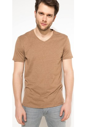 Defacto Erkek Basic V Yaka T-Shirt