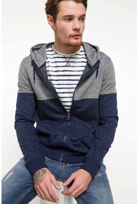 Defacto Erkek Hırka Sweatshirt