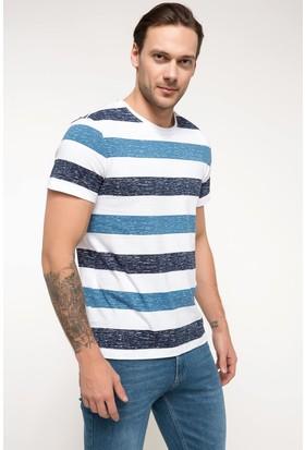 Defacto Erkek Çizgili T-Shirt