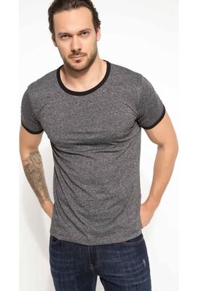 Defacto Erkek Bisiklet Yaka T-Shirt