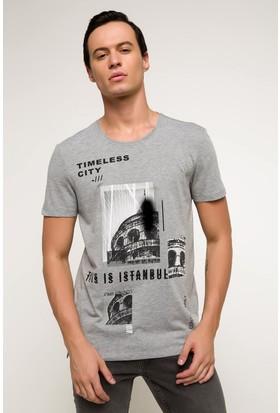 Defacto Erkek Baskılı T-Shirt