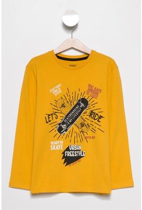 Defacto Erkek Çocuk Renk Değiştiren Baskılı Sweatshirt