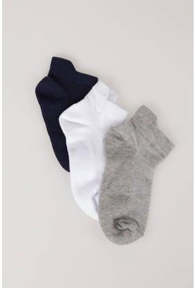 Defacto Erkek Çocuk 3'Lü Kısa Çorap Seti