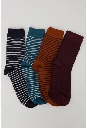 Defacto Erkek 4'Lü Çorap Seti