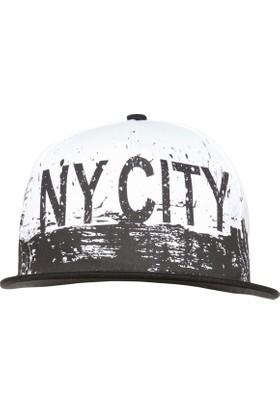 Defacto Erkek Çocuk Yazı Baskılı Hiphop Şapka