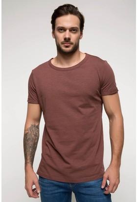 Defacto Erkek Basic Sıfır Yaka T-Shirt