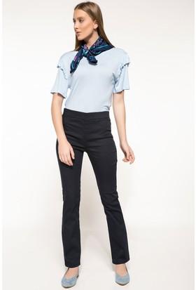 Defacto Kadın Beli Lastikli Klasik Pantolon