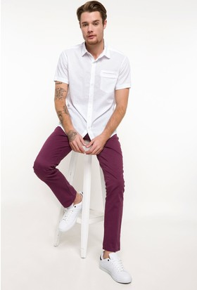 Defacto Erkek Bruno Slim Fit Chino Pantolon