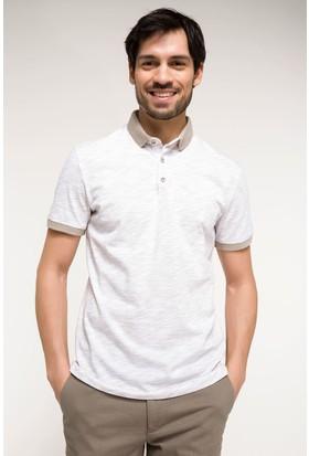 Defacto Erkek Slim Fit Polo Yaka T-Shirt