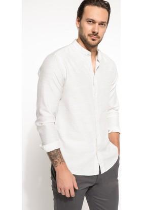 Defacto Erkek Basic Slim Fit Gömlek