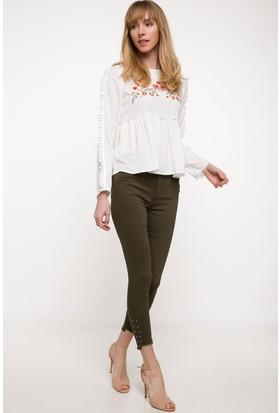 Defacto Kadın Anna Yüksek Bel Süper Skinny Denim Pantolon