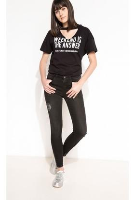 Defacto Kadın Denim Pantolon