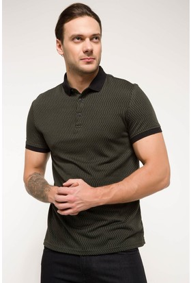 Defacto Erkek Slim Fit Polo Yaka T-Shirt