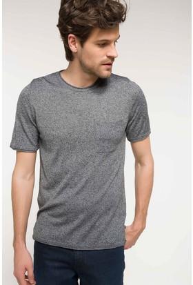 Defacto Erkek Slim Fit Triko T-Shirt