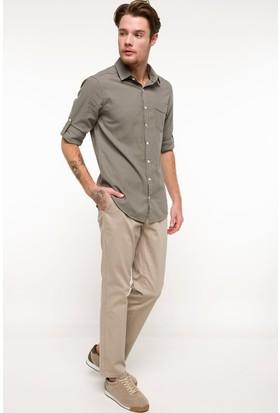 Defacto Erkek Paco Regular Fit Chino Pantolon