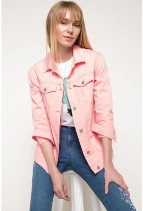 Defacto Kadın Geniş Kesim Denim Ceket