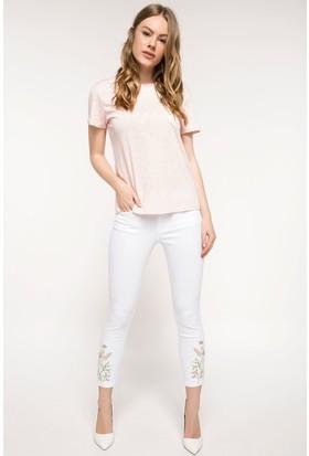 Defacto Kadın Rebeca Skinny Gabardin Pantolon