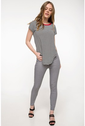Defacto Kadın Slim Fit Pantolon
