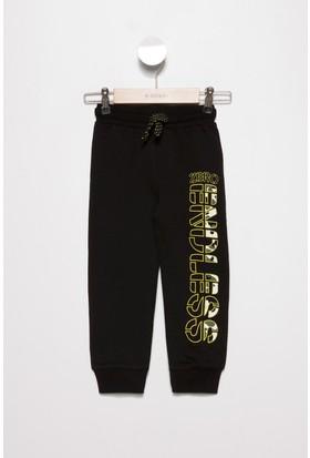 Defacto Erkek Çocuk Paçası Lastikli Baskılı Pantolon
