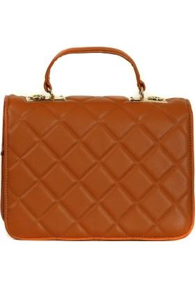 Lookat Kahverengi Renk Bayan Çanta El Çantası